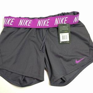 Nike fold-over shorts 💕